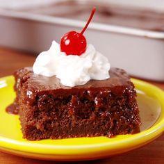 The secret to delish chocolate cake.