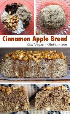 How To Make Raw Vegan Cinnamon Apple Bread