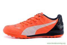 marcas de zapatos ORANGE/Blanco/Negro TF PUMA evoSPEED 1.3 XR Hombre