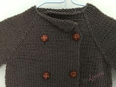 DIY Manualidades con tutoriales paso a paso. Te enseño a tejer y comparto trabajos y patrones de punto, crochet, costura y otras manualidades. Knitting For Kids, Baby Knitting, Baby Cardigan, Baby Kids, Knit Crochet, Pullover, Diy, Crafty, Children