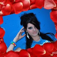 Red Petals Frame - free online photo effects and filters Photo Effects, Filters, Disney Princess, Disney Characters, Frame, Red, Picture Frame, Frames, Hoop
