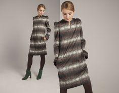 FW 18 from the Norwegian designer Mette Møller Fur Coat, Winter, Jackets, Design, Fashion, Winter Time, Down Jackets, Moda, Fashion Styles