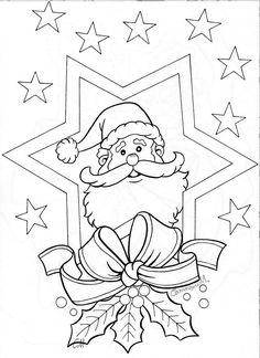 pergamano - Page 3 Christmas Activities, Christmas Printables, Christmas Colors, Christmas Art, Xmas, Christmas Coloring Sheets, Illustration Noel, Theme Noel, Christmas Drawing