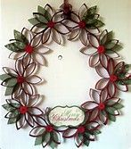 Toilet Paper Roll Wreath - Bing Images