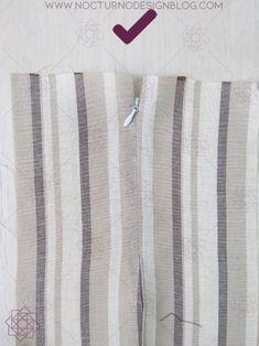 2 formas de coser una cremallera invisible – Nocturno Design Blog Baby Sewing, Sew Baby, Design Blog, Zipper, Album, Videos, Women, Fashion, Vestidos