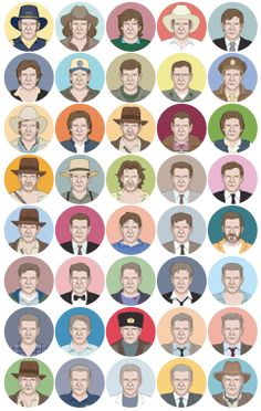 The Many Faces of Harrison Ford