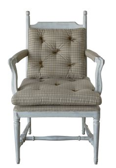 pohodlná jídelní židle / stylový toskánský nábytek Accent Chairs, Vase, Furniture, Home Decor, Upholstered Chairs, Homemade Home Decor, Home Furnishings, Interior Design, Jars