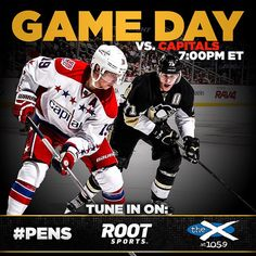 It's a Pittsburgh Gold hockey night! Tonight the Capitals come to town for the third of four meetings this season between #WSHvsPIT.