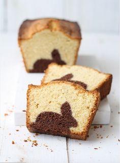 On ne sait pas ce qu'il en est pour vous. Mais nous, quand on s'essaie à la réalisation d'un gâteau marbré on commence sagement...