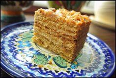 """KULINARNE WYSKOKI: """"Medovik"""" - rosyjskie ciasto miodowe."""