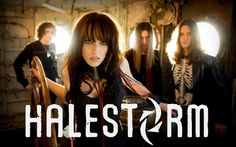 Halestorm. After Carnival of Madness I fell into like with this group and had to look them up
