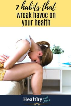 Why wait until the new year to start taking care of yourself?  Start NOW and in 90 days you could have a new healthy lifestyle and feel like a new you. Are these 7 bad habits keeping you from ultimate health?  If you have one or more of these habits, take steps to take care of yourself and reap the rewards of a healthy lifestyle, whether that's eating clean, exercising more, losing weight or improving mental health. #healthylifestyle #gethealthy #healthyhabits #eatclean 7 Habits, Good Habits, Healthy Habits, Get Healthy, Wellness Tips, Health And Wellness, Health Fitness, Mental Health, Hip Workout