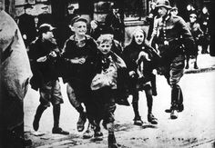 Warsaw, Poland, Children who were caught by the German police while smuggling food into the ghetto. These children will be sadly killed. They were so very brave in their short life span