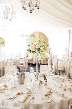 Centrepieces and Lace Hoods by Emma Hall Designs