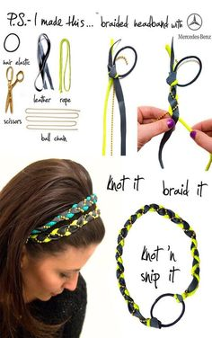 """DIY Braided Headband"""
