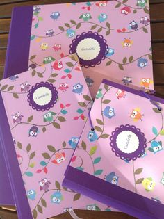 Búhos Notebook, Scrapbook, Makeup Tricks, Notebooks, Presents, Manualidades, Desktop, The Notebook, Scrapbooks