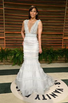 Paula Patton. La fiesta post Oscar de Vanity Fair 2014