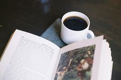 The Epic Love Triangle Between Books, Coffee, and Tea #teamcoffee