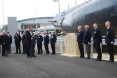 HRH #PrinceWilliam The Duke of Cambridge stops a while to commemorate the lives of past #submariners