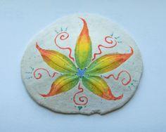hand painted sand dollar
