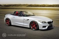 BMW Z4 Red Carbonic Video Photo