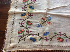 ottoman turkish embroidered scarf