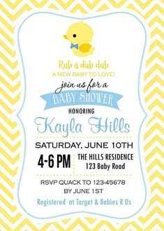 cutiebabes.com duck baby shower invitations (06) #babyshower