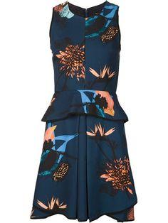 Comprar Proenza Schouler vestido acampanado con estampado floral en Gretta Luxe from the world's best independent boutiques at farfetch.com. Descubre 400 boutiques en 1 sola dirección.