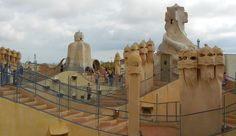 casa milla made bu gaudi in barcelona-just in case there is time to go to barcelona