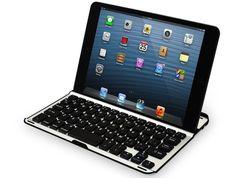 Carcasa de aluminio para iPad Mini con teclado Bluetooth