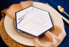white, navy and gold wedding invitations. stationery by www.lindsayarnesoncreative.com. Photography by www.katielewisphotography.com