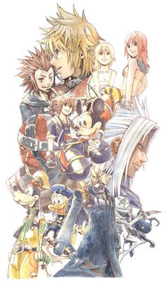Kingdom Hearts 2 by 湯豆腐
