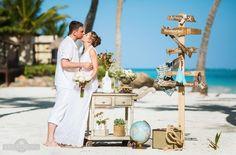 Travel inspired wedding of your dreams in Punta Cana #wedding #weddingdecor #happy #couple #valsweddings #beach #sun #destinationwedding