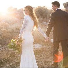 Also a pretty dress. (Alta Moda bridal)
