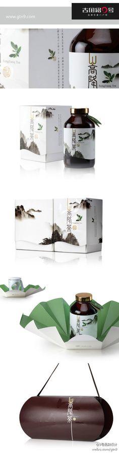 9号品牌设计:台湾的茶叶包装 @夏悄悄俏俏采集到设计(52图)_花瓣平面设计