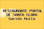 http://tecnoautos.com/wp-content/uploads/imagenes/empresas/restaurantes/thumbs/restaurante-portal-de-santa-clara-garzon-huila.jpg Teléfono y Dirección de RESTAURANTE PORTAL DE SANTA CLARA, Garzón, Huila, Colombia - http://tecnoautos.com/actualidad/directorio/restaurantes/restaurante-portal-de-santa-clara-cl-6-2-15-e-sta-clara-garzon-huila-colombia/