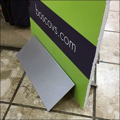 This simple Freestanding Foamcore Signboard Stand has proved popular in posts here on FixturesCloseUp so it bears reporting again. Foamcore, Software Apps, Retail Fixtures, Types Of Printing, Travel Tours, Retail Shop, Event Management, Close Up, Royal Blue