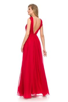 Red dress = hot look! ❤ Must have ORERA evening dress by Athena Philip >>> www. Glamorous Evening Dresses, Luxury Dress, Glamour, Elegant, Formal Dresses, Hot, Color, Collection