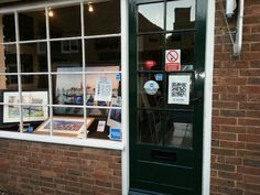 Art Shop and Gallery in Rye with a QR code