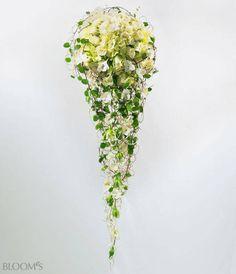 Brautsträuße in Tropfenform