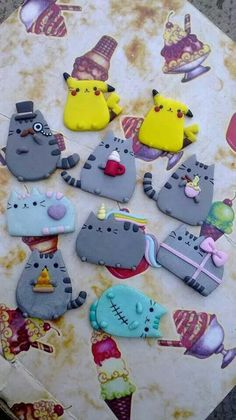 Cuteeeeeeee #kawaii #clay | :-: KAWAII :-: | Pinterest
