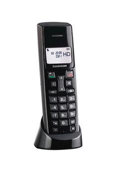 Cordless phone HD Voice D47 - 3/4 left HD (1755 x 2650)