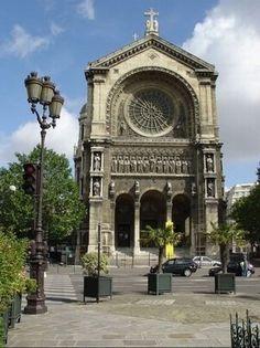 Victor Baltard - L' église Saint Augustin