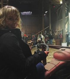 "Sam Smith (@samsmithgrams) on Instagram: ""#tbt Just drivin' the tractor. #Supernatural  #bts #1212  Photo by Mr. @realmarksheppard"""