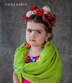Hahahah mini frida I am so making Bella be this for Halloween