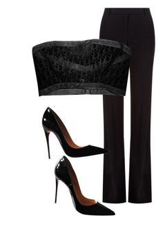 """""""Untitled #20"""" by nelah-boo ❤ liked on Polyvore featuring Alexander McQueen and Christian Louboutin"""