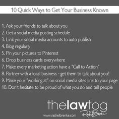 10 Quick Ways to Get Your Business Known