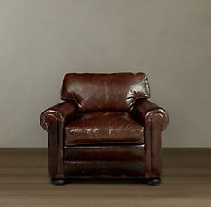 """Bedroom Rehab - One More Addition every man (and woman) needs an enormous leather armchair in his (or her) life. sitting-in-a-tree: """" Lancaster Leather Chair from Restoration Hardware """" Leather Club Chairs, Leather Lounge, Leather Couches, Leather Furniture, Whiskey Room, Take A Seat, Chair Pads, Restoration Hardware, Houses"""