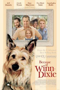Because of Winn-Dixie (definitely my favorite kids movie, but also one of my all time favorite movies!)