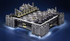 Best News Ever: Checkmate, Joker! This Batman Chess Set is Worth Every Penny